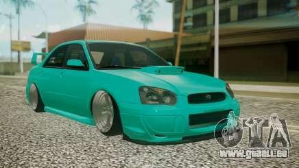 Subaru Impreza 2004 pour GTA San Andreas