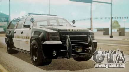 GTA 5 Declasse Granger Sheriff SUV für GTA San Andreas