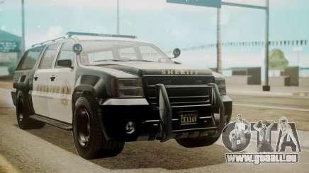 GTA 5 Declasse Granger Sheriff SUV pour GTA San Andreas