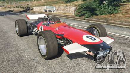 Lotus 49 1967 [ailerons] pour GTA 5