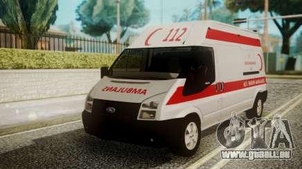 Ford Transit Jumbo Ambulance für GTA San Andreas
