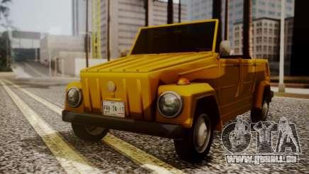 Volkswagen Safari Type 181 pour GTA San Andreas