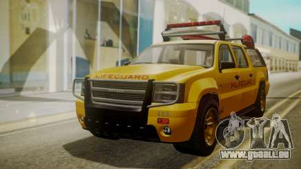 GTA 5 Declasse Granger Lifeguard IVF für GTA San Andreas