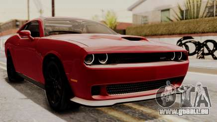 Dodge Challenger SRT Hellcat 2015 HQLM pour GTA San Andreas