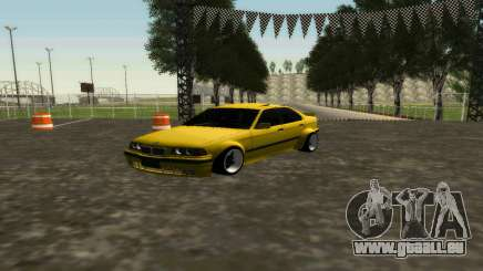 BMW 320i E36 Wide Body Kit für GTA San Andreas