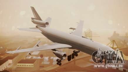 DC-10-30 All-White Livery (Paintkit) für GTA San Andreas