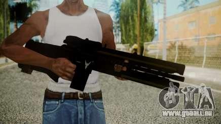 VXA-RG105 Railgun with Stripes für GTA San Andreas