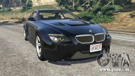 BMW M6 (E63) WideBody v0.1 pour GTA 5