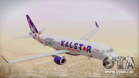 E-195 KalStar Aviation für GTA San Andreas rechten Ansicht
