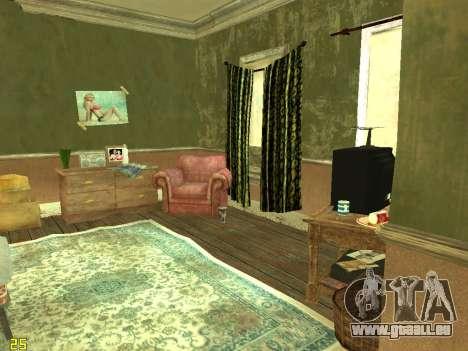 Wohnung von GTA IV für GTA San Andreas zweiten Screenshot