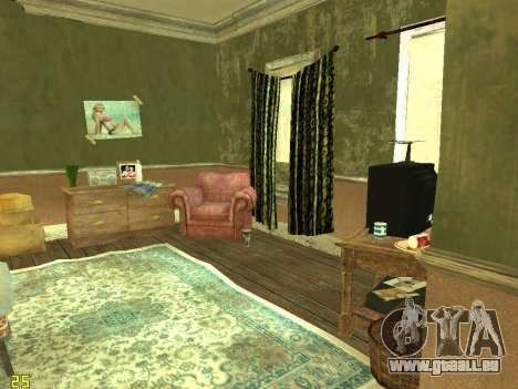 Appartement de GTA IV pour GTA San Andreas deuxième écran