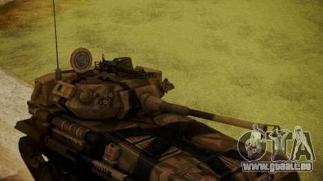 Alvis FV101 Scorpion für GTA San Andreas rechten Ansicht