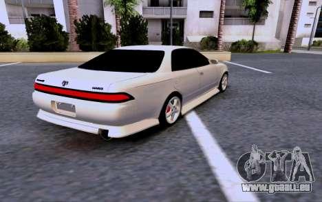 Toyota Mark 2 pour GTA San Andreas laissé vue