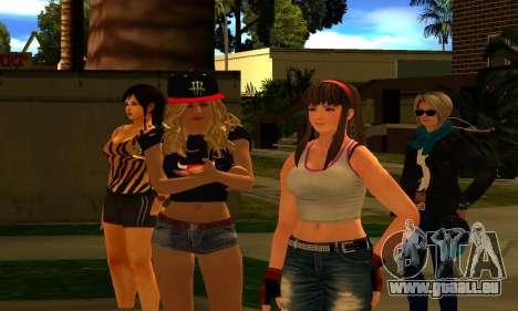 Womens Mega Pack by 7 Pack für GTA San Andreas dritten Screenshot
