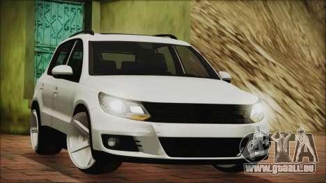 Volkswagen Tiguan Vossen Edition pour GTA San Andreas laissé vue