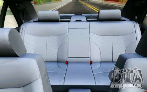 Mercedes-Benz W140 pour GTA San Andreas vue de dessus