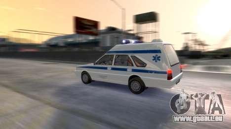 Daewoo-FSO Polonez Cargo Krankenwagen 1999 für GTA 4 Unteransicht