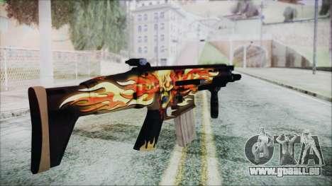 SCAR-L pour GTA San Andreas deuxième écran