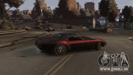 GTA V Stinger Classic für GTA 4 rechte Ansicht