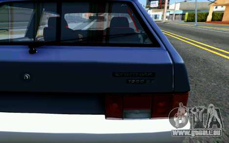 VAZ 2108 V1 pour GTA San Andreas vue arrière