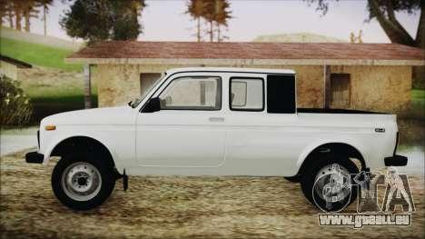 VAZ 2329 Niva 4x4 pour GTA San Andreas sur la vue arrière gauche