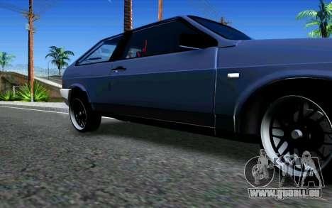 VAZ 2108 V1 pour GTA San Andreas laissé vue