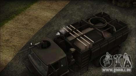 Archer Gun Truck pour GTA San Andreas vue de droite