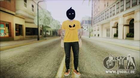 DLC Halloween GTA 5 Calabaza für GTA San Andreas zweiten Screenshot