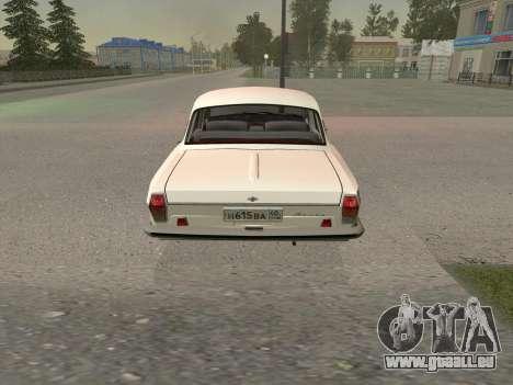 GAZ 24 BQ pour GTA San Andreas vue de droite