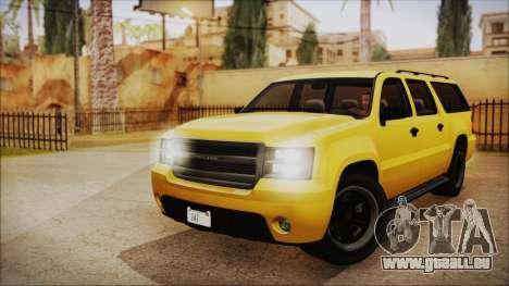 GTA 5 Declasse Granger IVF pour GTA San Andreas