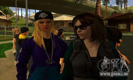 Womens Mega Pack by 7 Pack pour GTA San Andreas quatrième écran
