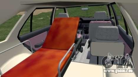 Daewoo-FSO Polonez Cargo Krankenwagen 1999 für GTA 4 Innenansicht