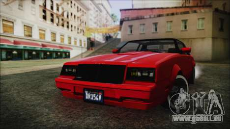 GTA 5 Willard Faction Custom without Extra IVF pour GTA San Andreas