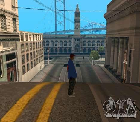 Super Emmet pour GTA San Andreas deuxième écran
