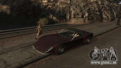 GTA V Stinger Classic für GTA 4 linke Ansicht