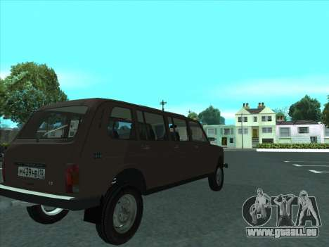 VAZ 2131 Samudera für GTA San Andreas Rückansicht