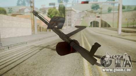 GTA 5 Flame Thrower pour GTA San Andreas deuxième écran