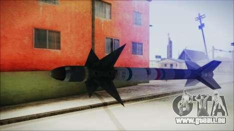 AIM9 Missile für GTA San Andreas