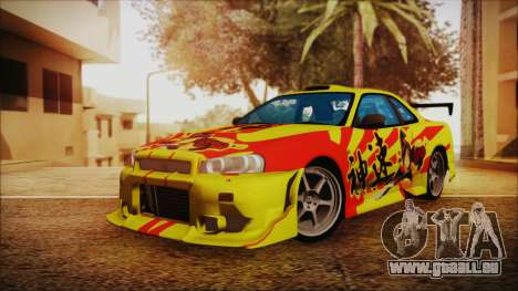 Nissan Skyline Street Racing Syndicate pour GTA San Andreas