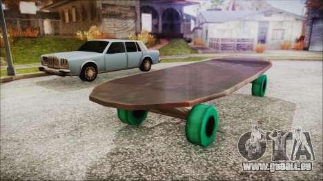 Giant Skateboard für GTA San Andreas