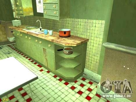 Wohnung von GTA IV für GTA San Andreas zehnten Screenshot
