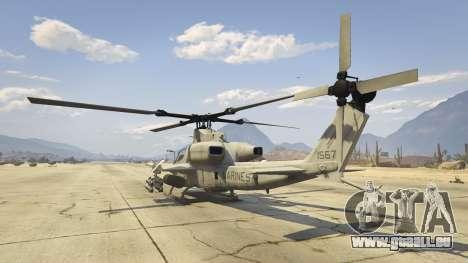 GTA 5 AH-1Z Viper vierten Screenshot