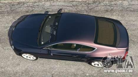 GTA 5 Bentley Continental GT 2012 v1.1 vue arrière