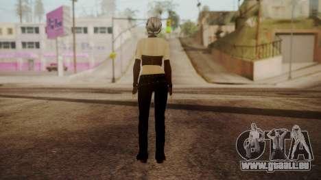 Jennifer pour GTA San Andreas troisième écran