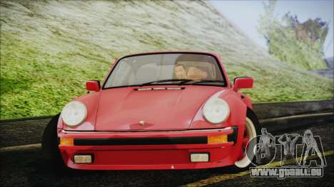 Porsche 911 Turbo 3.3 Coupe (930) 1986 pour GTA San Andreas