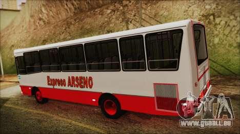 Mercedes-Benz OHL 1320 Linea 514 Expreso Arseno pour GTA San Andreas laissé vue