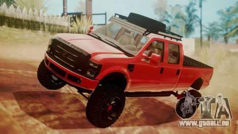 Ford F-350 2010 Lifted Sema Show pour GTA San Andreas