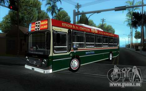 Ugarte Europeo MO OH1718L-SB Linea 59 pour GTA San Andreas