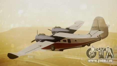 Grumman G-21 Goose NC327 Cutter Goose pour GTA San Andreas laissé vue