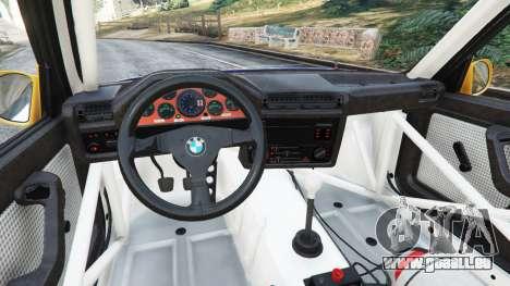 GTA 5 BMW M3 (E30) 1991 [Mingelo] v1.2 rechte Seitenansicht